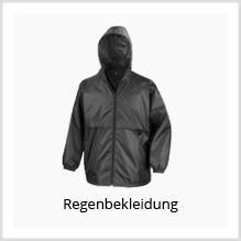 Regenbekleidung als Werbekleidung bedrucken