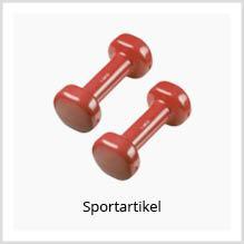 Sportartikel als Werbemittel